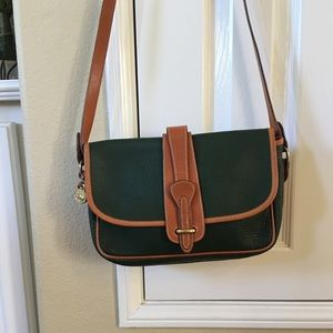 Classic Dooney and Bourke flap bag